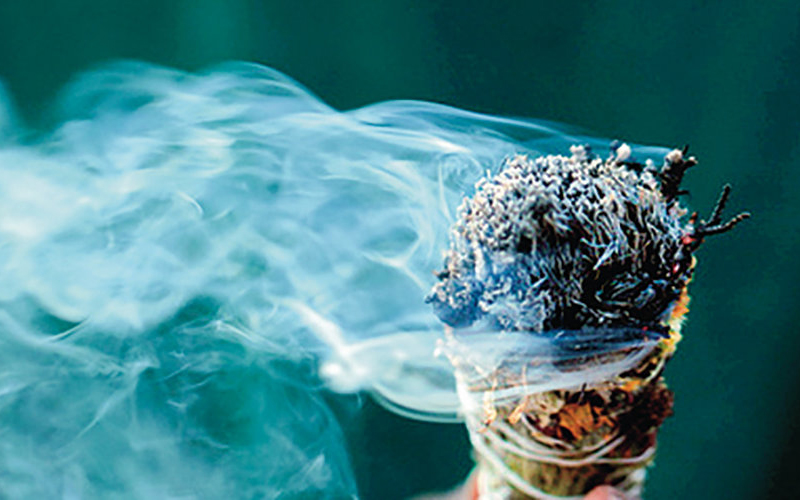 Smudging & Cleansing in Macaulay